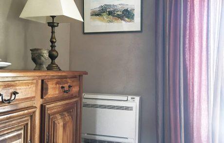 Remplacement de radiateurs électriques par de la climatisation