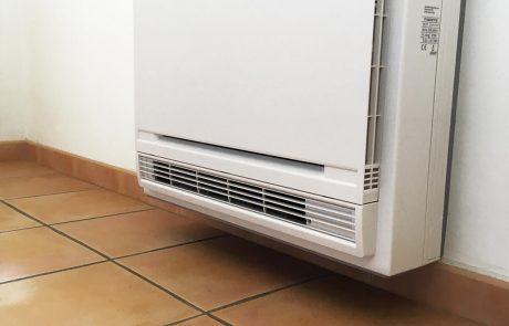 Remplacement de radiateurs électriques par climatisation réversible