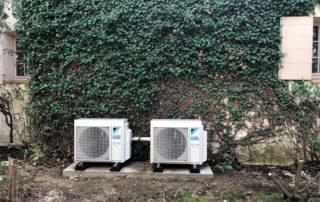 Installation de climatisation esthétique : les groupes extérieurs
