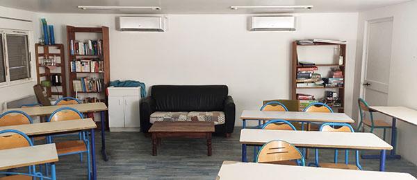 Traitement de l'air et climatisation de l'école Steiner Waldorf en région d'Avignon