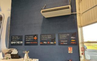 Surfaces vitrées : climatisation