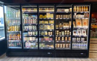 Cosy Fruits : vitrine réfrigérée Froid Palombi