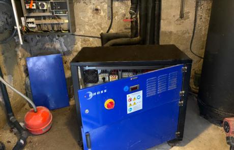 Pompe à chaleur eau/eau AVANT
