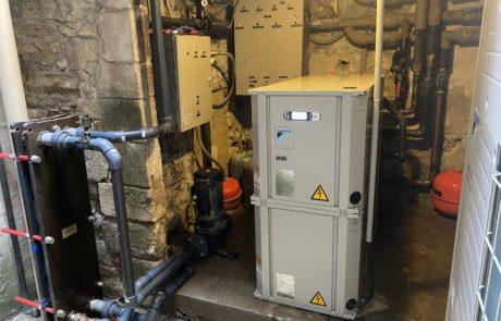 Pompe à chaleur eau/eau APRÈS